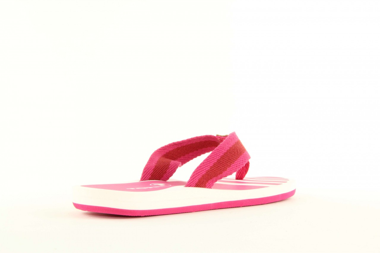 Klapki tom tailor 5491701 pink, róż, guma 7