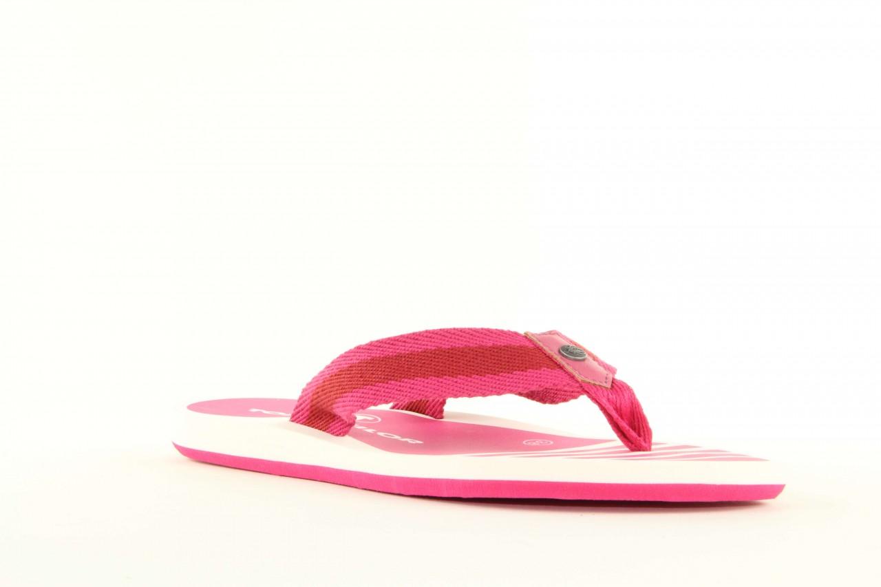 Klapki tom tailor 5491701 pink, róż, guma 11