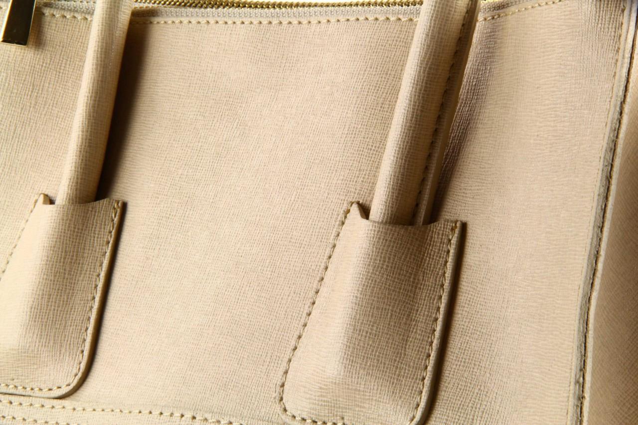 Torebka bp35 borsa pelle wz. 003 beżowy - bayla - nasze marki 11