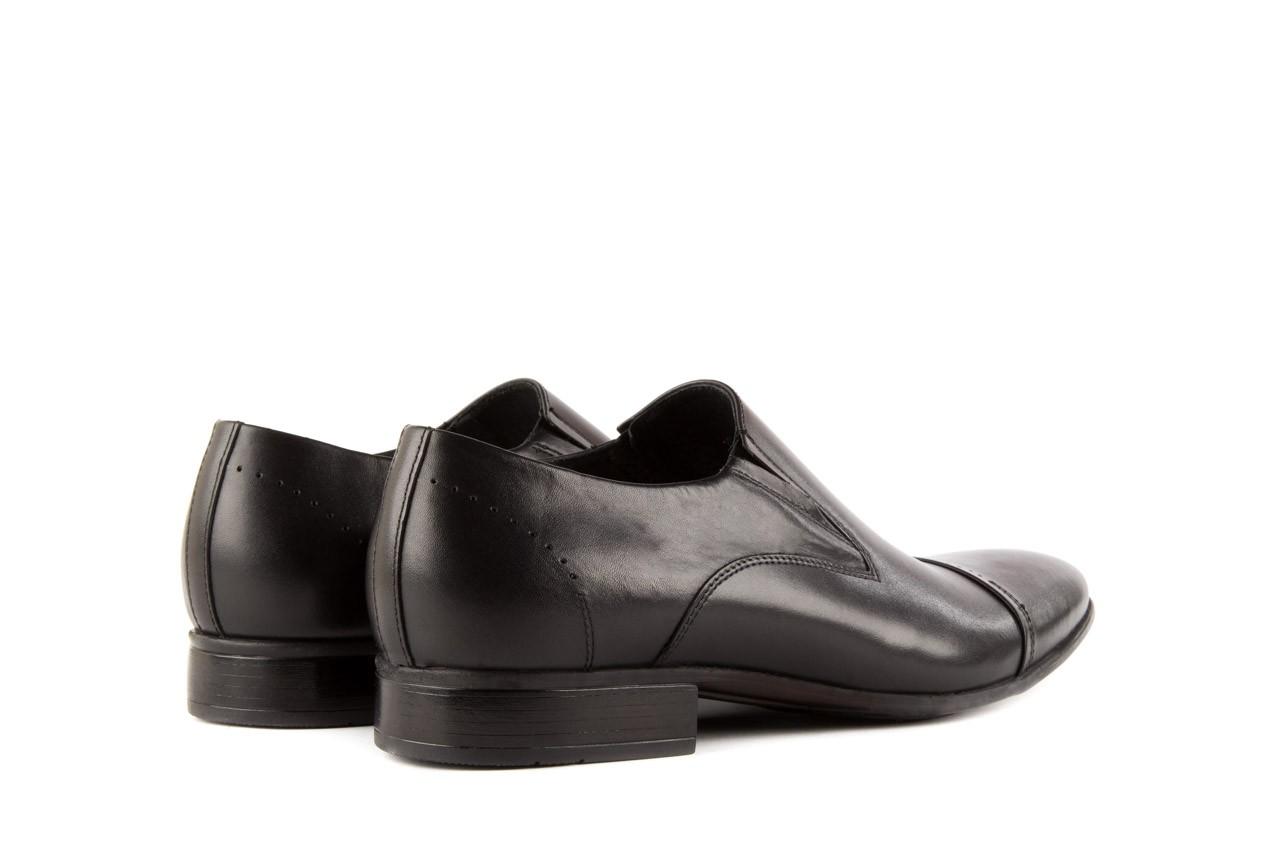 Półbuty tresor-057 2985 czarny, skóra naturalna - obuwie wizytowe - buty męskie - mężczyzna 9