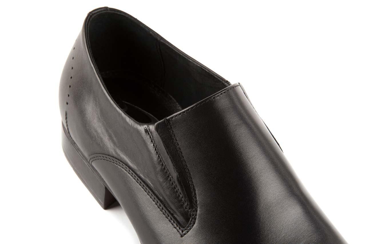 Półbuty tresor-057 2985 czarny, skóra naturalna - obuwie wizytowe - buty męskie - mężczyzna 11