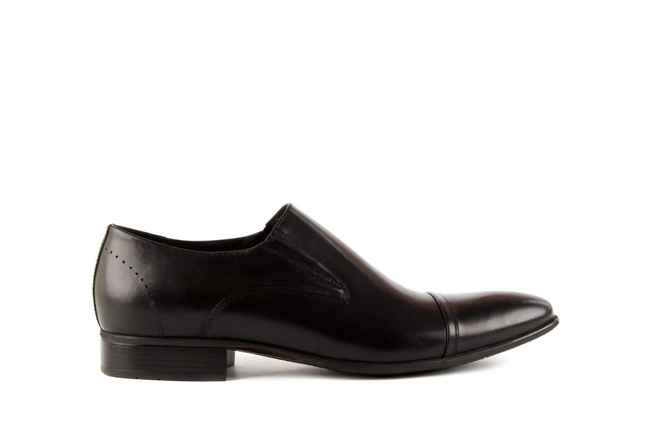 Półbuty tresor-057 2985 czarny, skóra naturalna - obuwie wizytowe - buty męskie - mężczyzna 6
