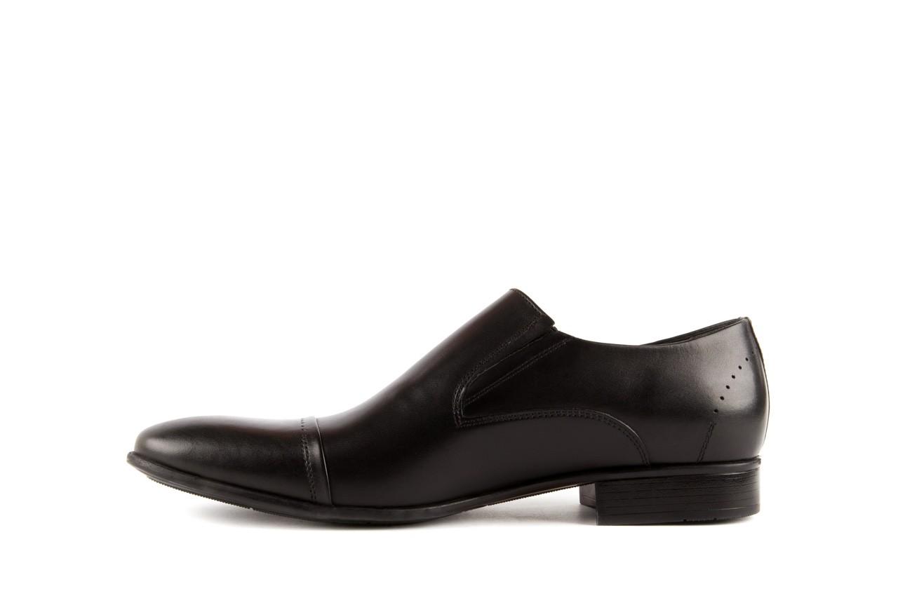 Półbuty tresor-057 2985 czarny, skóra naturalna - obuwie wizytowe - buty męskie - mężczyzna 8