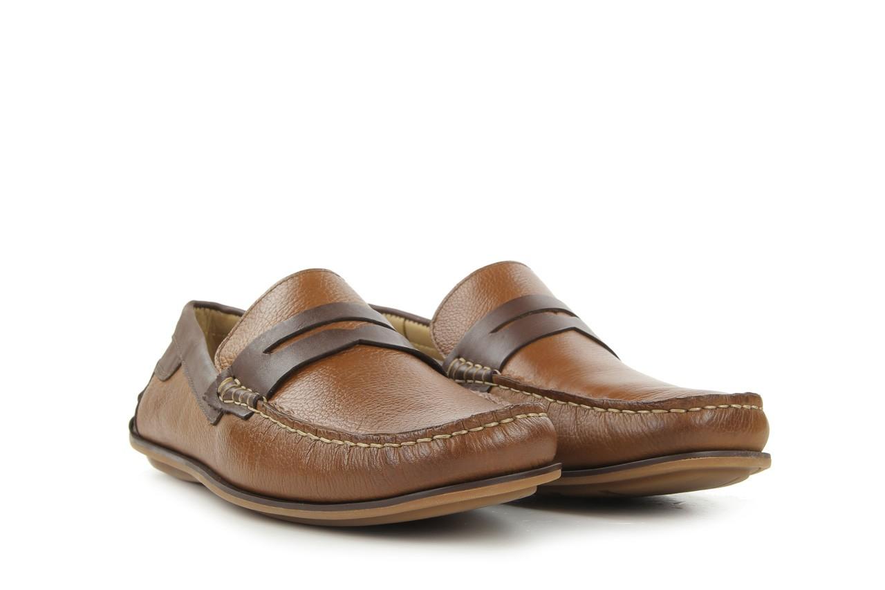 Mokasyny tresor-113 8500 bronze cafe, brąz, skóra naturalna - mokasyny i espadryle - buty męskie - mężczyzna 6