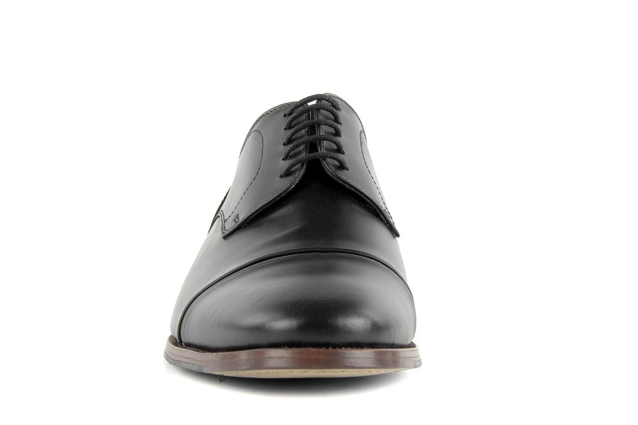 Półbuty valuni 8677 black/grey, czarny/szary, skóra naturalna 12