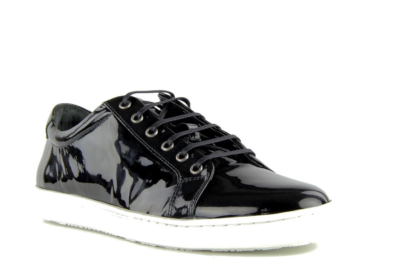 Pólbuty valuni 8964 black, czarny, skóra naturalna - trampki - buty męskie - mężczyzna 11