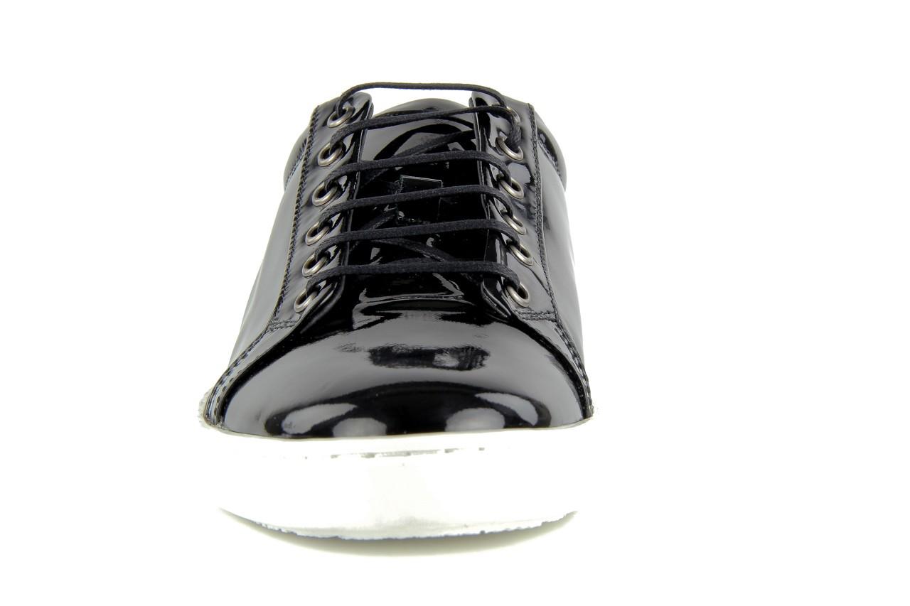 Pólbuty valuni 8964 black, czarny, skóra naturalna - trampki - buty męskie - mężczyzna 9