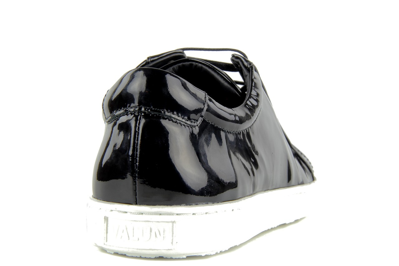 Pólbuty valuni 8964 black, czarny, skóra naturalna - trampki - buty męskie - mężczyzna 8
