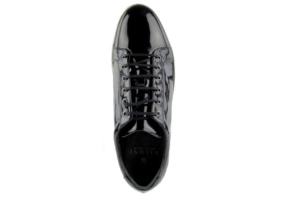 Pólbuty valuni 8964 black, czarny, skóra naturalna - trampki - buty męskie - mężczyzna 10