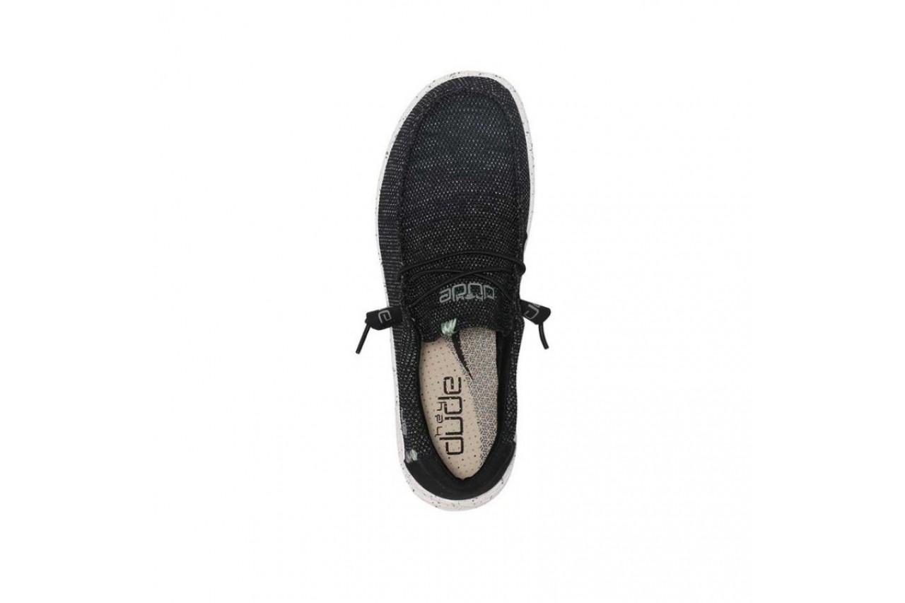 Półbuty heydude wally free ink, czarny, materiał - sale - buty męskie - mężczyzna 11