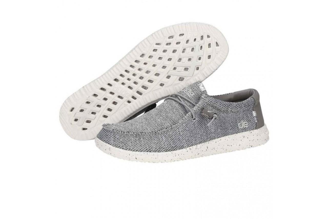 Półbuty heydude wally free light grey, szary, materiał  - sportowe - półbuty - buty męskie - mężczyzna 8