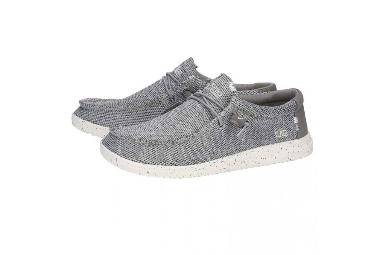 Półbuty heydude wally free light grey, szary, materiał  - sportowe - półbuty - buty męskie - mężczyzna 7