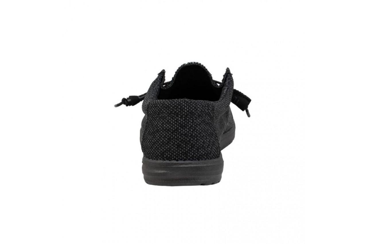 Półbuty heydude wally sox micro total black, czarny, materiał - heydude - nasze marki 11