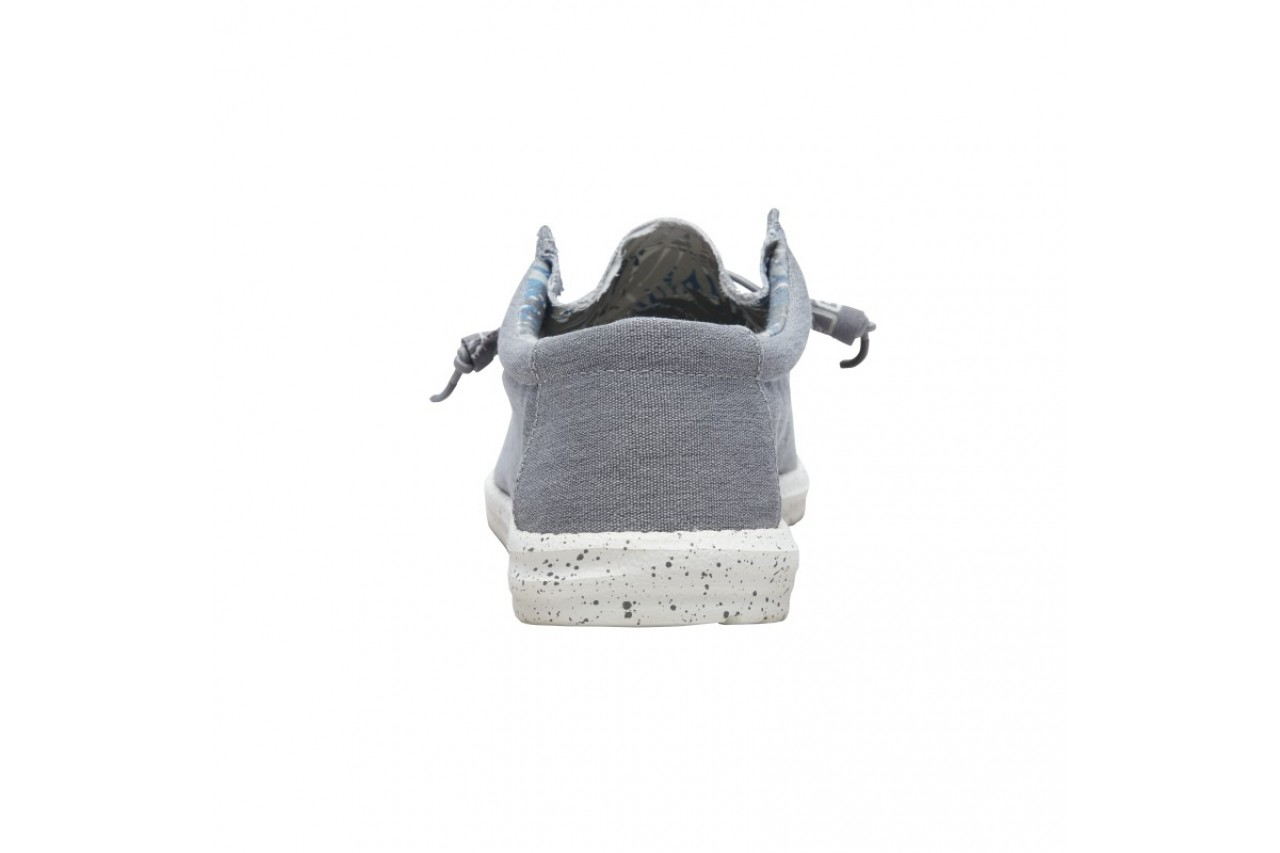 Półbuty heydude wally stretch iron, szary, materiał - heydude - nasze marki 8