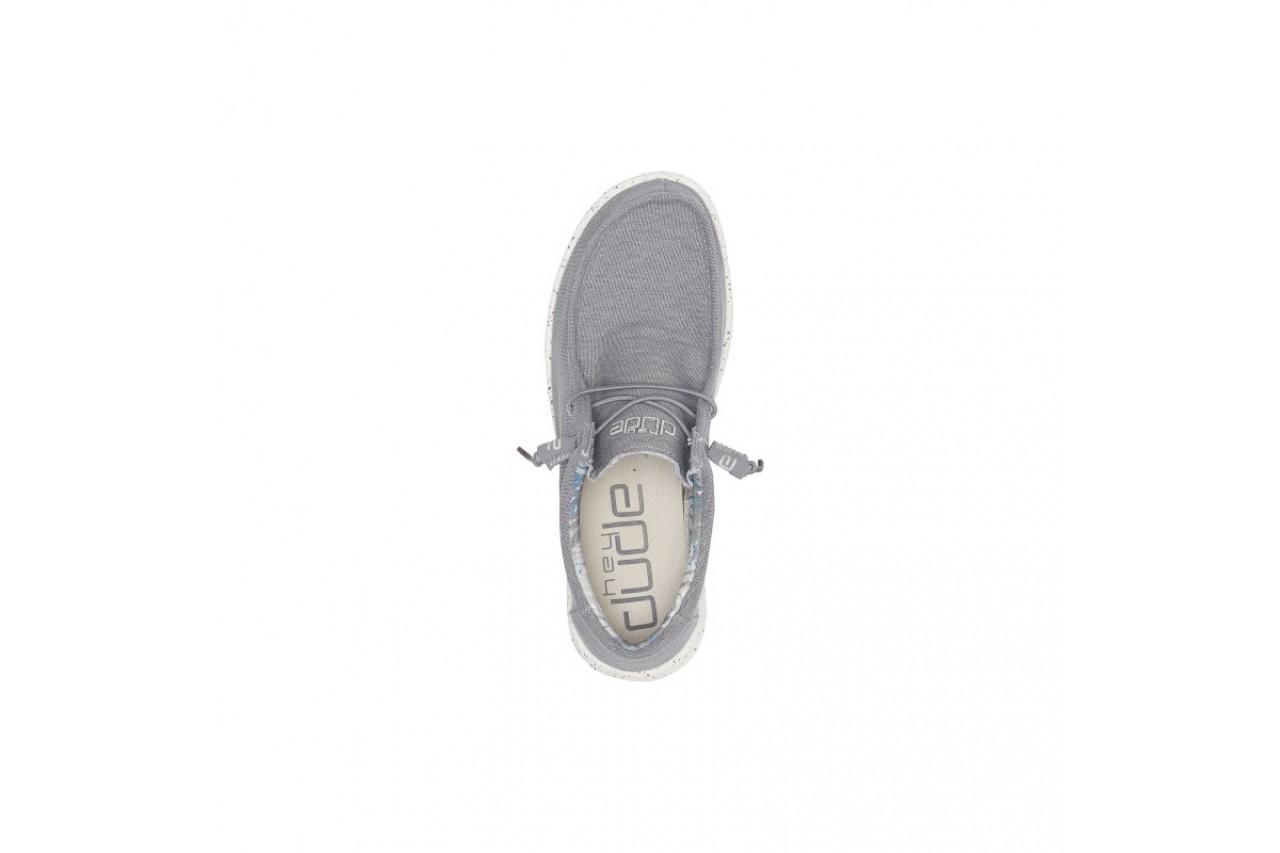 Półbuty heydude wally stretch iron, szary, materiał - heydude - nasze marki 9