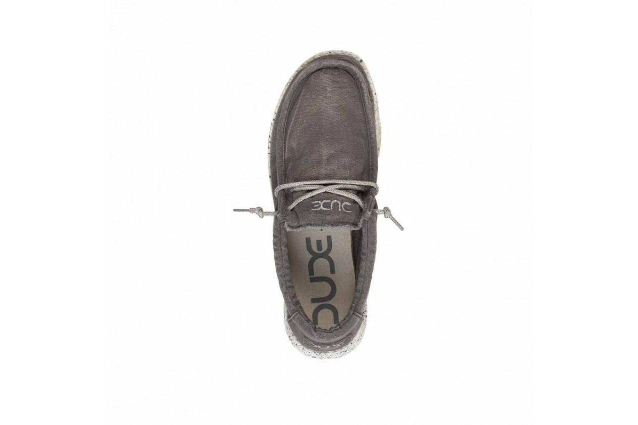 Półbuty heydude wally washed dark grey, szary, materiał - heydude - nasze marki 11