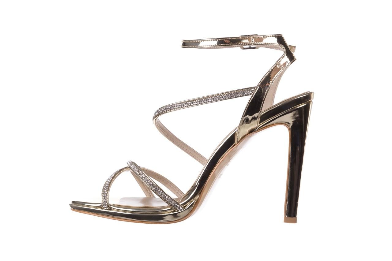 Sandały bayla-187 589-9078 złoty, skóra ekologiczna  - na obcasie - sandały - buty damskie - kobieta 9