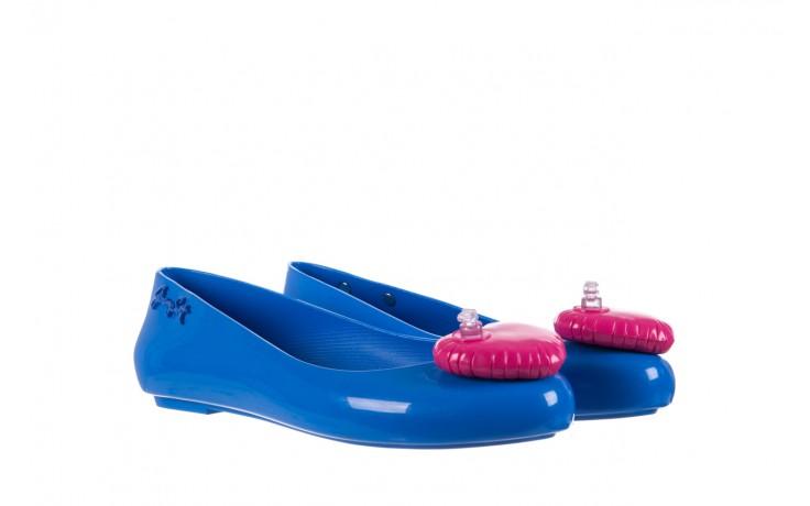 Baleriny melissa space love jeremy sc blue pink, niebieski, guma - melissa - nasze marki 1