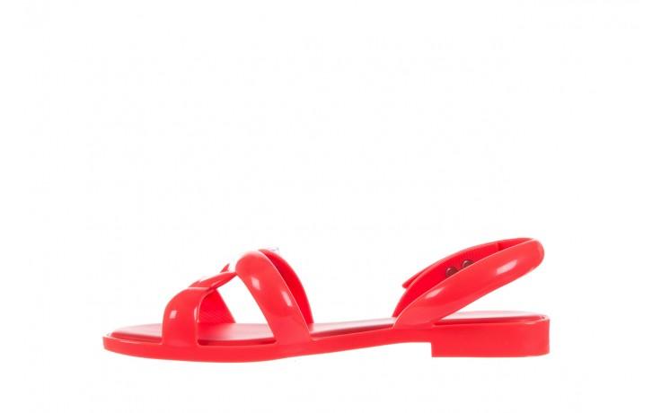 Sandały melissa tube sandal jeremy sc neon orange, pomarańczowy, guma - sandały - melissa - nasze marki 2