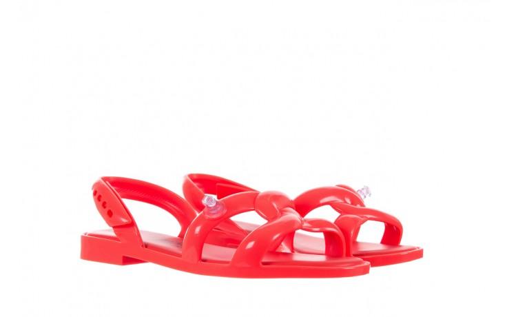 Sandały melissa tube sandal jeremy sc neon orange, pomarańczowy, guma - sandały - melissa - nasze marki 1