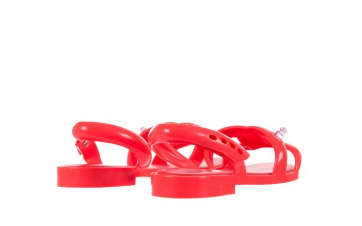 Sandały melissa tube sandal jeremy sc neon orange, pomarańczowy, guma - sandały - melissa - nasze marki 3