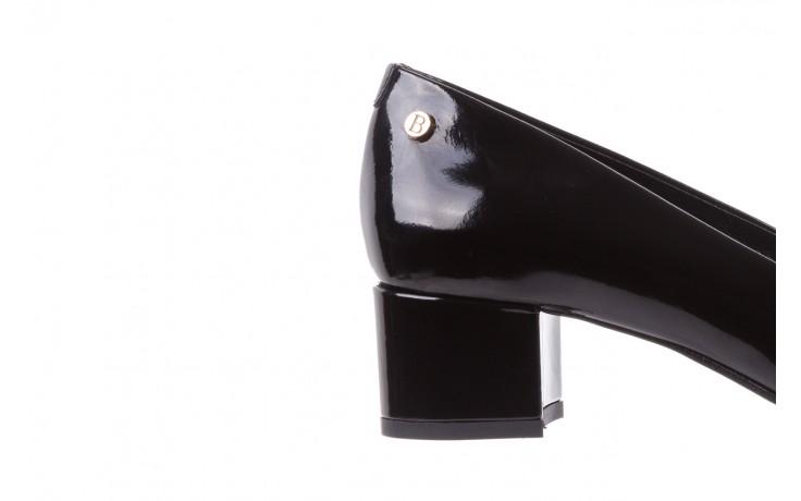Czółenka bayla-172 m005 czarny, skóra naturalna lakierowana  - bayla - nasze marki 7