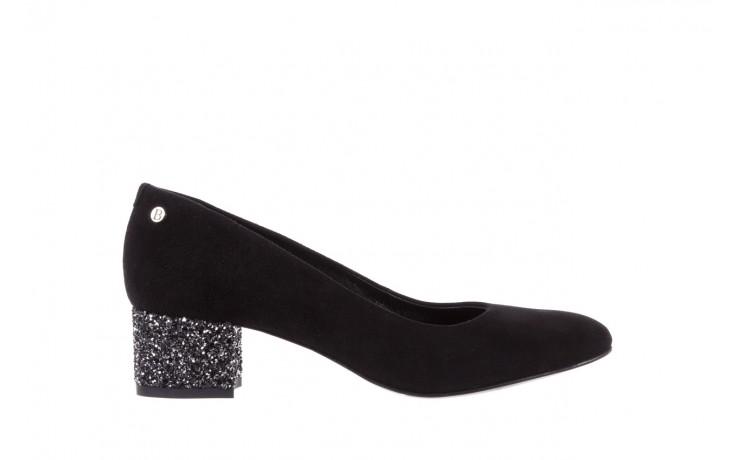 Czółenka bayla-172 m006 czarny, skóra naturalna - na słupku - czółenka - buty damskie - kobieta
