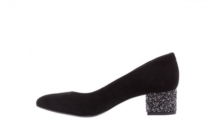 Czółenka bayla-172 m006 czarny, skóra naturalna - na słupku - czółenka - buty damskie - kobieta 3