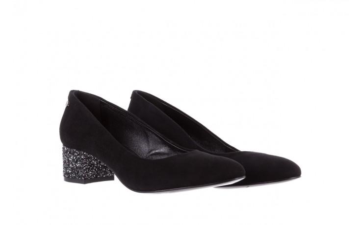 Czółenka bayla-172 m006 czarny, skóra naturalna - na słupku - czółenka - buty damskie - kobieta 1