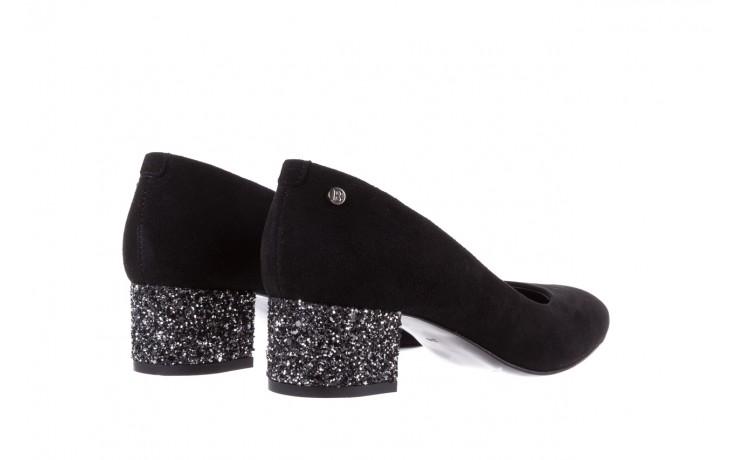 Czółenka bayla-172 m006 czarny, skóra naturalna - na słupku - czółenka - buty damskie - kobieta 4
