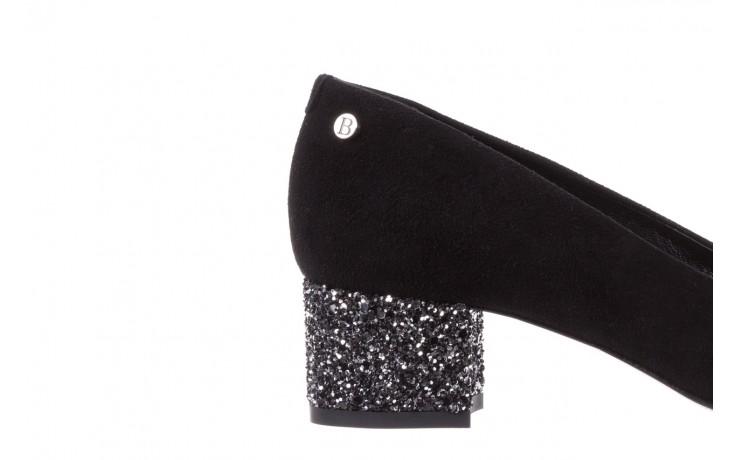 Czółenka bayla-172 m006 czarny, skóra naturalna - na słupku - czółenka - buty damskie - kobieta 6