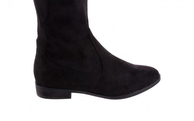 Kozaki bayla-175 16061-0396 black, czarny, materiał - bayla - nasze marki 4