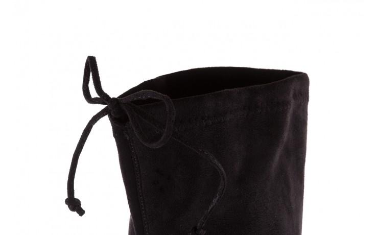 Kozaki bayla-175 16061-0396 black, czarny, materiał - bayla - nasze marki 6