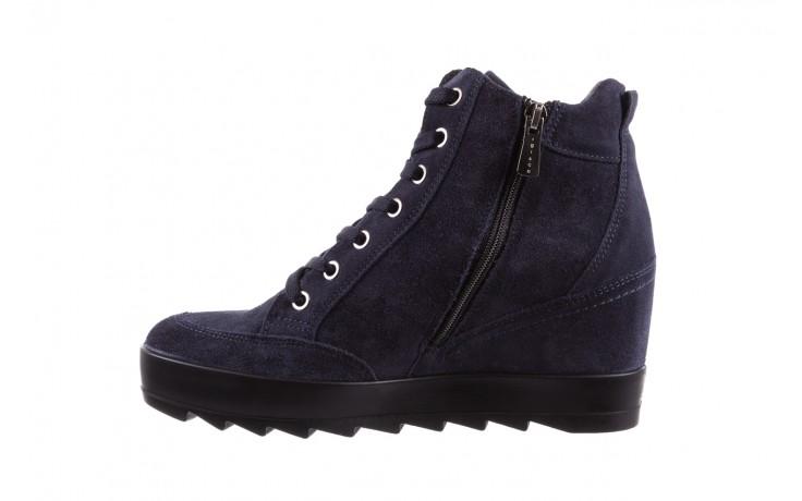 Sneakersy igi&co 8800200 blu, granat, skóra naturalna  - obuwie sportowe - buty damskie - kobieta 2