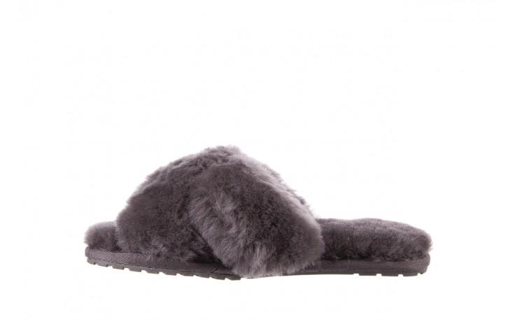 Klapki emu mayberry charcoal, szary, futro naturalne - emu - nasze marki 3