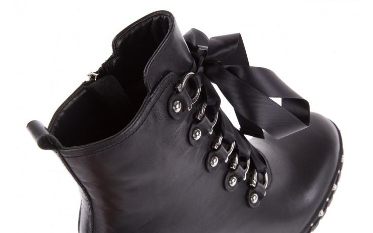 Botki bayla-144 9308 czarne botki 144020, skóra naturalna - skórzane - botki - buty damskie - kobieta 6