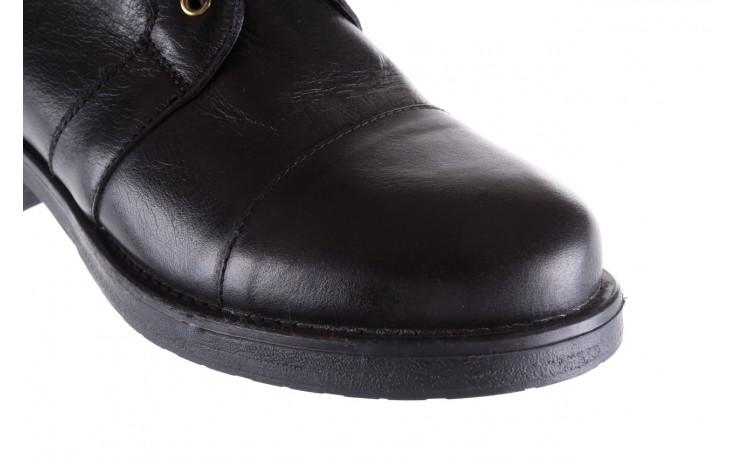 Trzewiki bayla-164 top 16a black 164004, czarny, skóra naturalna  - bayla - nasze marki 5