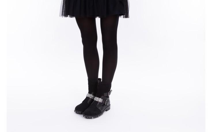 Trzewiki bayla-144 9301 czarne, skóra naturalna - trzewiki - buty damskie - kobieta 2