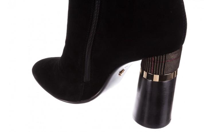 Kozaki sca'viola f-100 black czarny, skóra naturalna - sca`viola - nasze marki 6