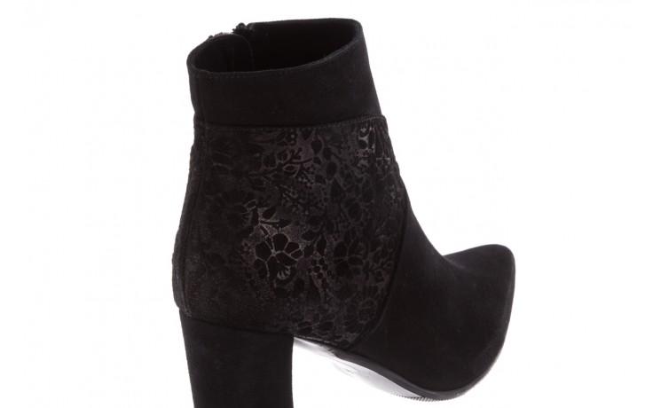 Botki bayla-097 19 botki czarne, skóra naturalna - zamszowe - botki - buty damskie - kobieta 5