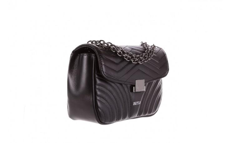 Torebka bayla-180 czarna torebka ze skóry luna - akcesoria - kobieta 1