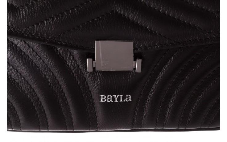 Torebka bayla-180 czarna torebka ze skóry luna - akcesoria - kobieta 4