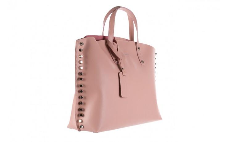 Torebka bayla-180 jasnoróżowa torebka ze skóry loren - akcesoria - kobieta 1