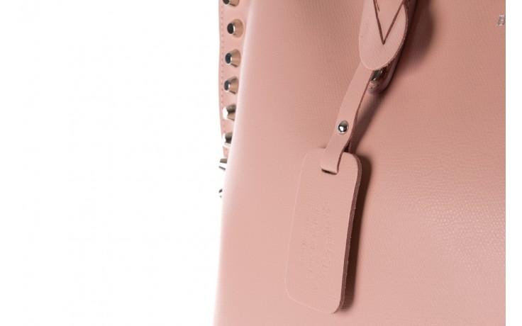 Torebka bayla-180 jasnoróżowa torebka ze skóry loren - akcesoria - kobieta 6