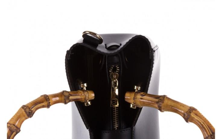 Torebka bayla-180 czarna torebka ze skóry kora - bayla - nasze marki 4