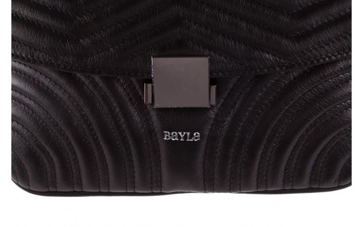 Torebka bayla-180 czarna torebka ze skóry mia - bayla - nasze marki 5