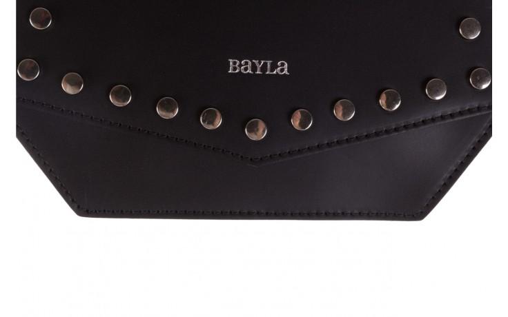 Torebka bayla-180 czarna torebka ze skóry lola - bayla - nasze marki 3