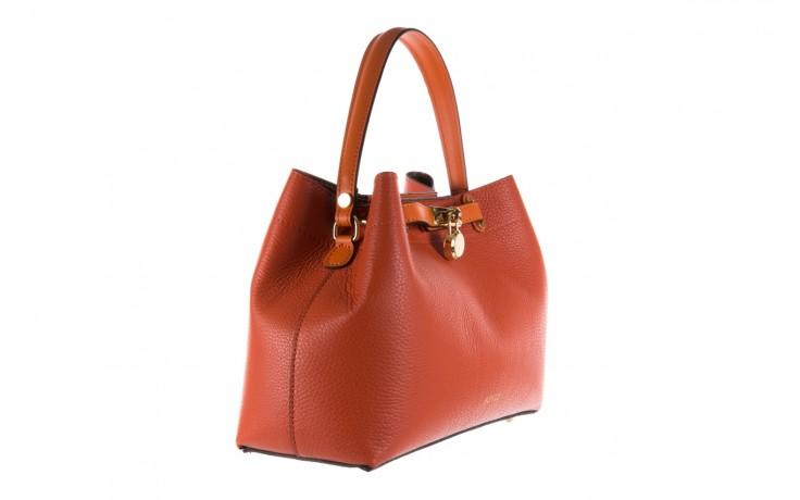 Torebka bayla-180 pomarańczowa torebka ze skóry hera - bayla - nasze marki 1