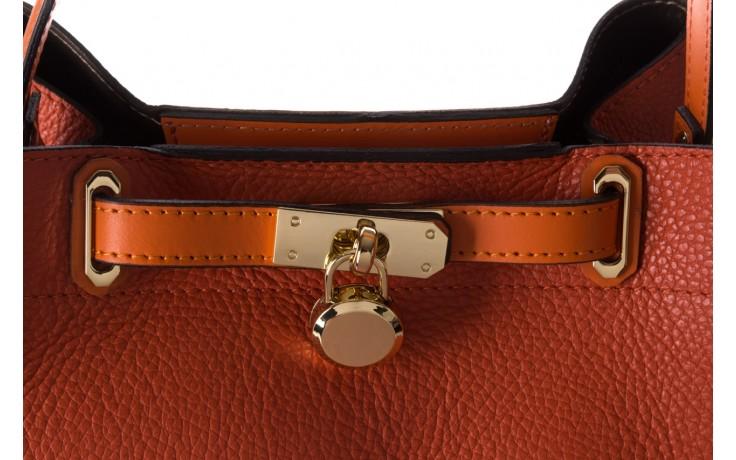 Torebka bayla-180 pomarańczowa torebka ze skóry hera - bayla - nasze marki 5