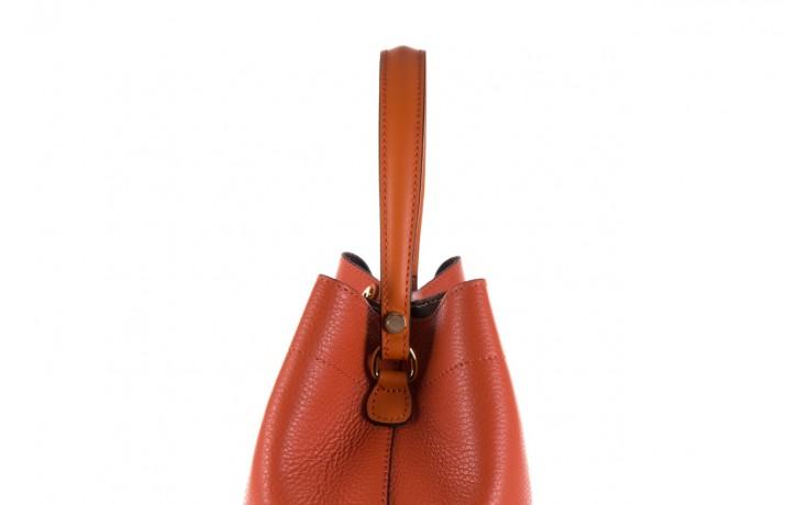 Torebka bayla-180 pomarańczowa torebka ze skóry hera - bayla - nasze marki 4